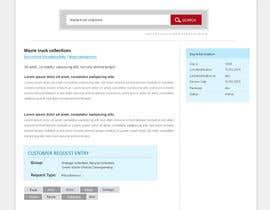 Nro 19 kilpailuun Design UI/UX for a web portal käyttäjältä chancalkmr