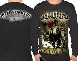 #11 for Design a T-Shirt for ironworkers members by jonydep