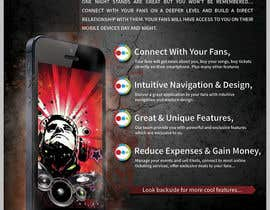 #23 untuk Fact sheet/flyer for a Fan Smartphone App oleh bab55z