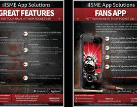 #26 for Fact sheet/flyer for a Fan Smartphone App by bab55z