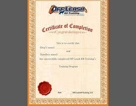 #57 para Design a Certificate of Completion For Dog Training Business por graphics15