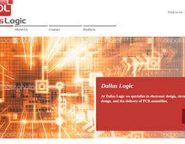 #1 untuk Design a Website Mockup for Dallas Logic Corporation oleh tarik1991