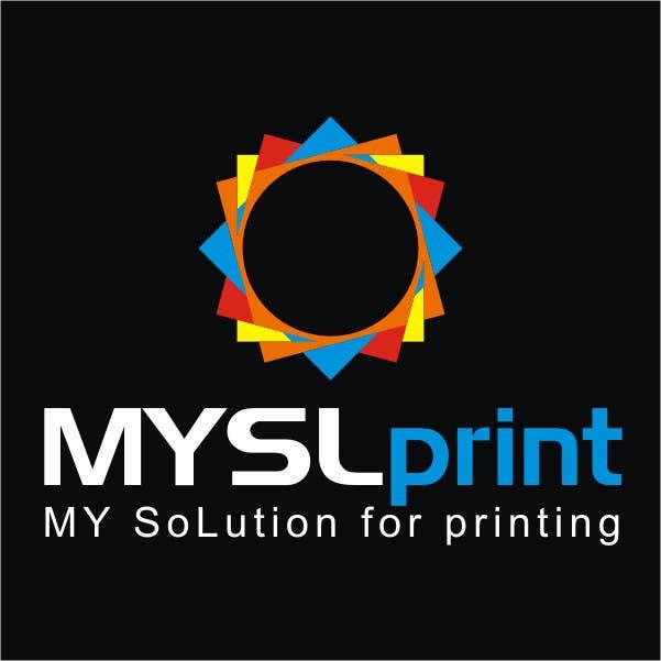 """Bài tham dự cuộc thi #15 cho Design a Logo for PRINTING company """"MYSLprint"""""""