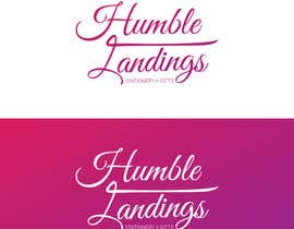 dexter000 tarafından Logo Design for Humble Landings Stationery + Gifts için no 84