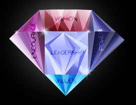 Nro 10 kilpailuun Create diamond graphic. käyttäjältä Rightwaydesign