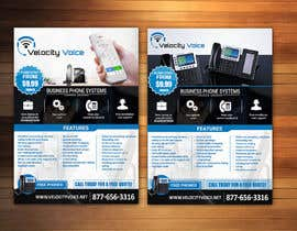 #22 for Design a Digital Flyer for Business Phone Service Provider - Velocity Voice by adidoank123
