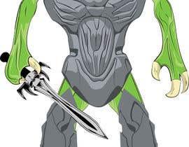 Nro 28 kilpailuun Monster Concept Art käyttäjältä Rightwaydesign
