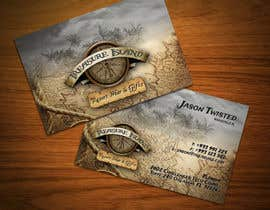 #66 for Business Card Design for Treasure Island Resort Wear & Gifts by F5DesignStudio