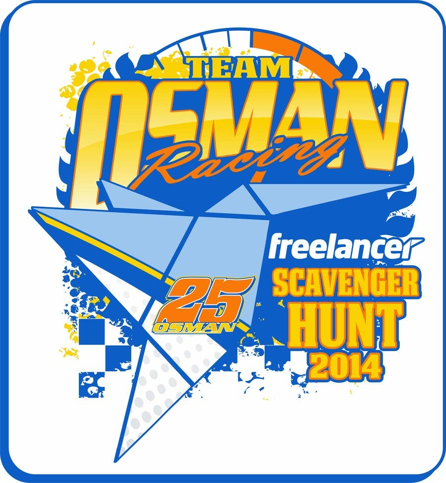Proposition n°8 du concours Design a Logo for Osman Racing Freelancer Scavenger Hunt