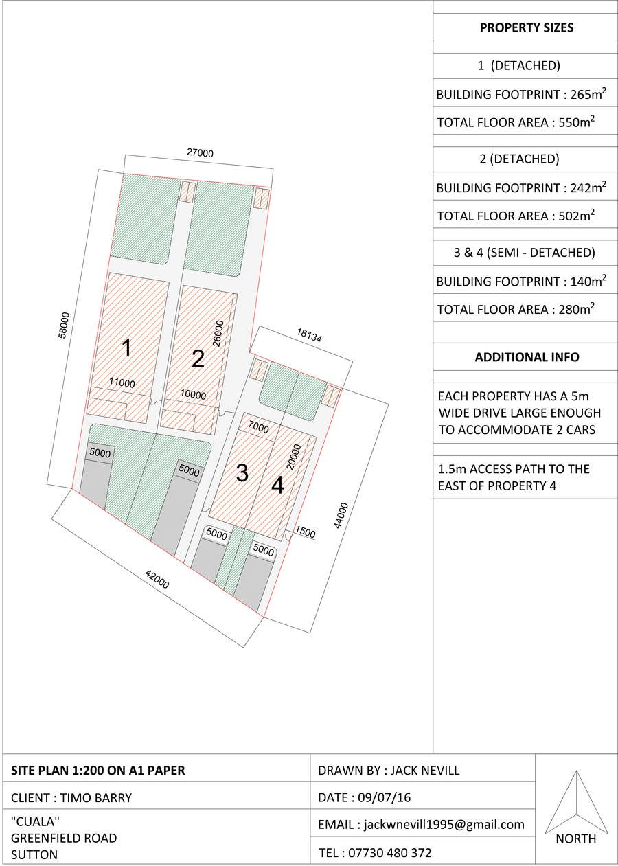 Residential site plan freelancer for Residential site plan