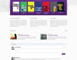 #69 untuk Design a Website for author / book writter oleh RsSofts