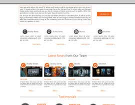 #13 para Design a Website Mockup for Cloudberry mediabox por lauranl