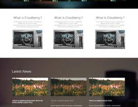 #5 para Design a Website Mockup for Cloudberry mediabox por MiNdfr34k