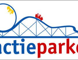 #67 for Create a logo containing a Rollercoaster for a Amusement Parc website by obrejaiulian