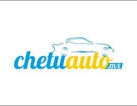 Nro 13 kilpailuun Diseñar un logotipo for chetuauto.mx käyttäjältä moro2707