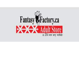 #30 para Design an updated logo for Fantasy Factory.ca Adult Store por pixelldr