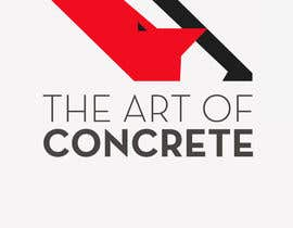 #6 para Design a Logo for The Art of Concrete por ignacioperezroca