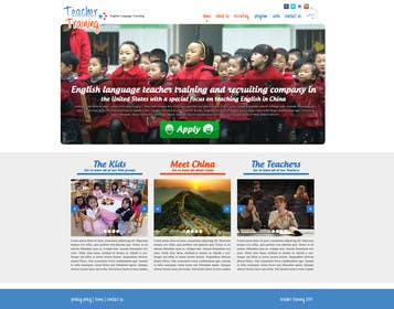 #12 for 10 Page Wordpress Website for an English Teacher Training Company by mworks