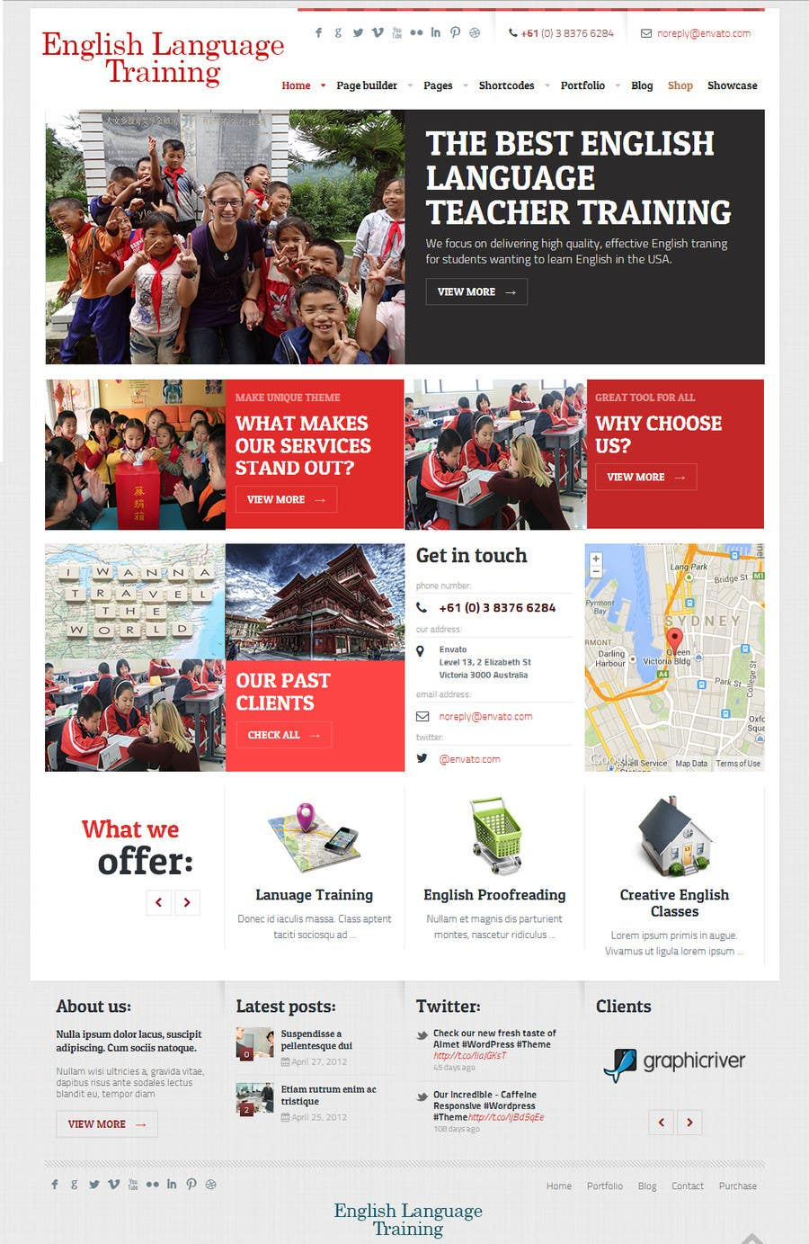 #4 for 10 Page Wordpress Website for an English Teacher Training Company by acozzwebdesign