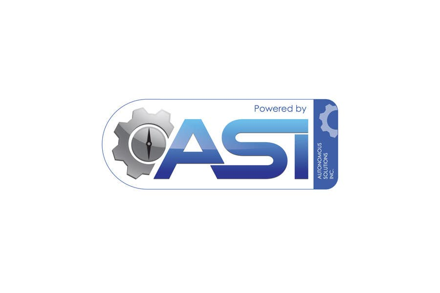 Contest Entry #                                        19                                      for                                         Sticker/Badge design for Robotics Company (ASI)