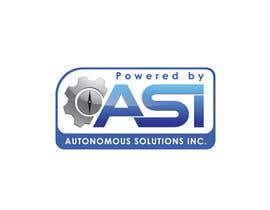#49 for Sticker/Badge design for Robotics Company (ASI) by Anmech