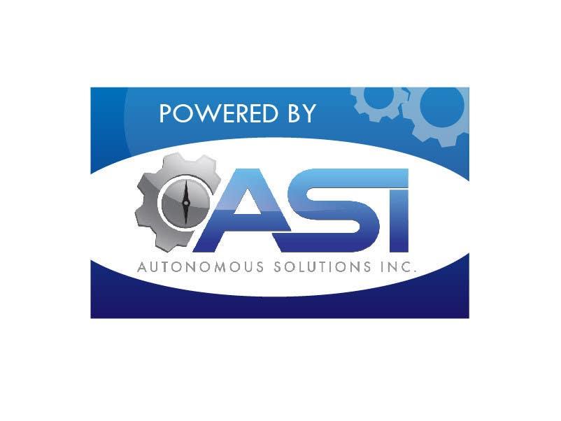 Contest Entry #                                        26                                      for                                         Sticker/Badge design for Robotics Company (ASI)