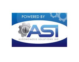 #26 for Sticker/Badge design for Robotics Company (ASI) af AkronDJ