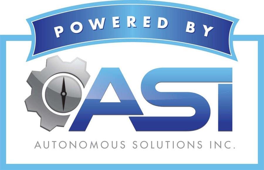 Konkurrenceindlæg #                                        58                                      for                                         Sticker/Badge design for Robotics Company (ASI)
