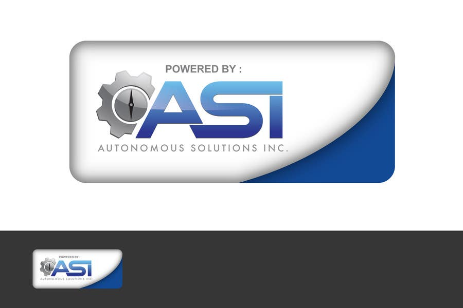 Contest Entry #                                        105                                      for                                         Sticker/Badge design for Robotics Company (ASI)