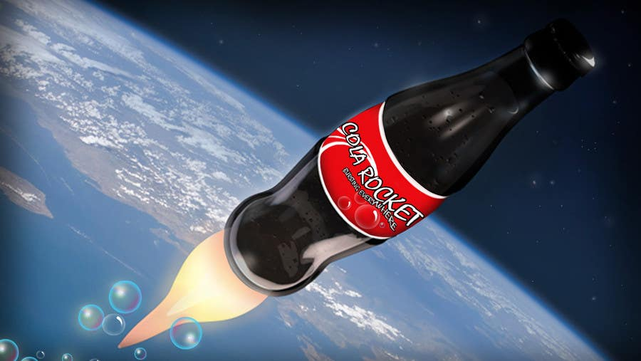 Penyertaan Peraduan #                                        31                                      untuk                                         Design a Logo for Cola Rocket