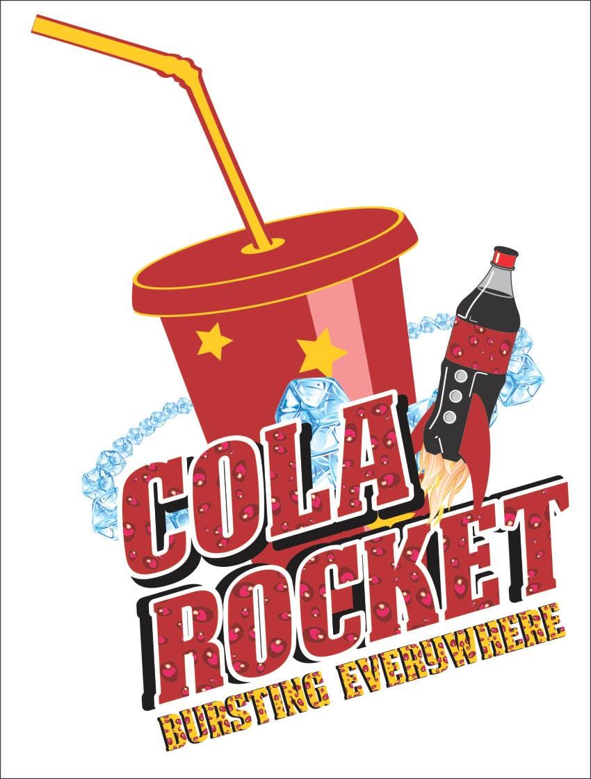 Penyertaan Peraduan #                                        43                                      untuk                                         Design a Logo for Cola Rocket