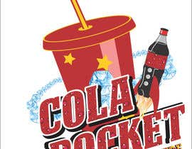 #43 para Design a Logo for Cola Rocket por obrejaiulian