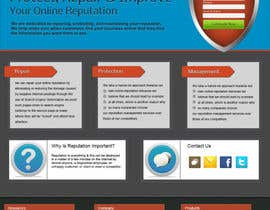 nº 47 pour Wordpress Theme Design for RepShield.org par tobacamp