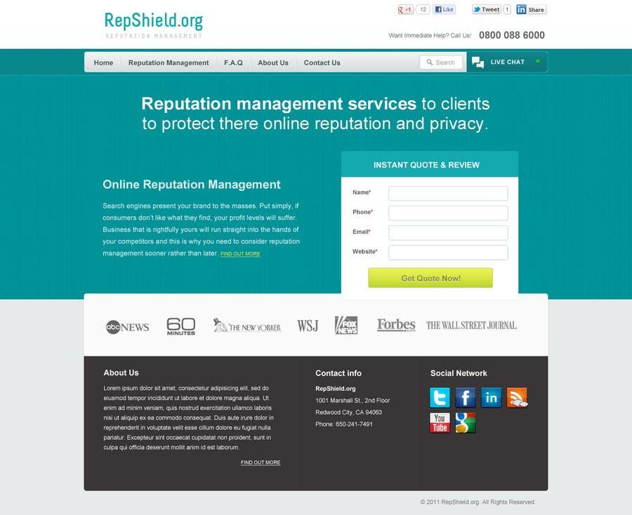 Inscrição nº                                         37                                      do Concurso para                                         Wordpress Theme Design for RepShield.org
