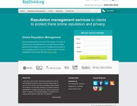 nº 37 pour Wordpress Theme Design for RepShield.org par tuanrobo