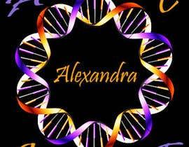 #10 para Design a Logo for the name ALEXANDRA por TerrenLee