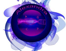 #27 for Design a Logo for the name ALEXANDRA af TerrenLee
