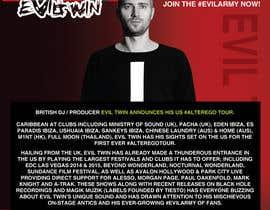 MMmahesh tarafından Design a Artist/DJ One Sheet için no 7