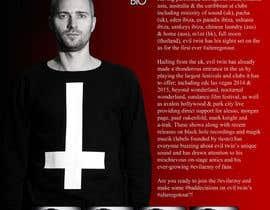bethpiltz tarafından Design a Artist/DJ One Sheet için no 8