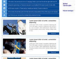nº 7 pour Redesign the Content Area of a Web Page (Just one page) par mrn030