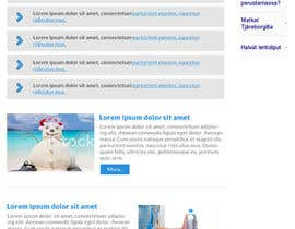 nº 11 pour Redesign the Content Area of a Web Page (Just one page) par wonderart