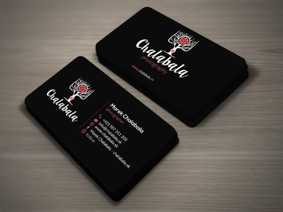 Kilpailutyö #63 kilpailussa Business card for photographer