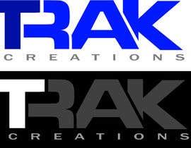Nro 66 kilpailuun Design a Logo for TRAKCreations käyttäjältä ebgraphic