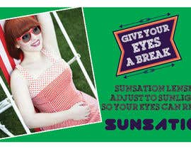 #47 para Design an Advertisement for Sunsation Lenses por shahriarlancer