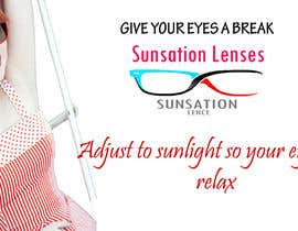 #10 para Design an Advertisement for Sunsation Lenses por thisara11