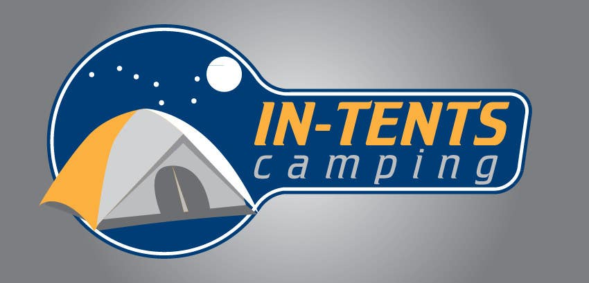 Proposition n°                                        36                                      du concours                                         Logo Design for In-Tents Camping