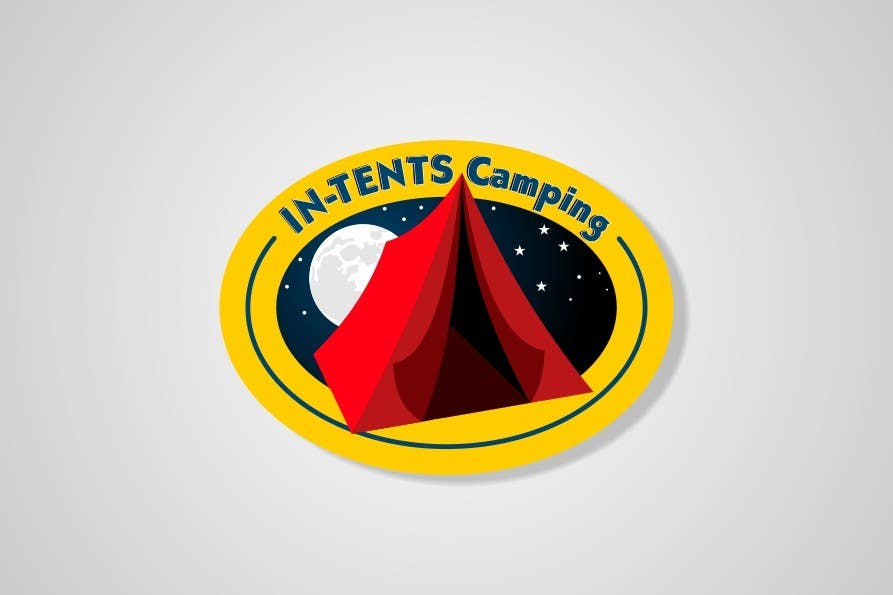 Konkurrenceindlæg #                                        134                                      for                                         Logo Design for In-Tents Camping