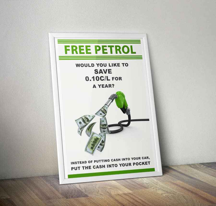 #10 for Free Petrol by designerdesk26