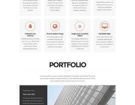 nº 29 pour Design a Wordpress Mockup for portfolio par codeunderground
