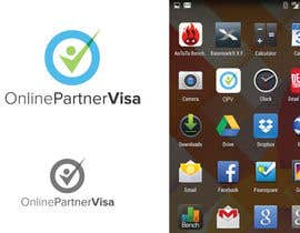 Nro 82 kilpailuun Design a Logo for Online Partner Visa käyttäjältä akshaydesai